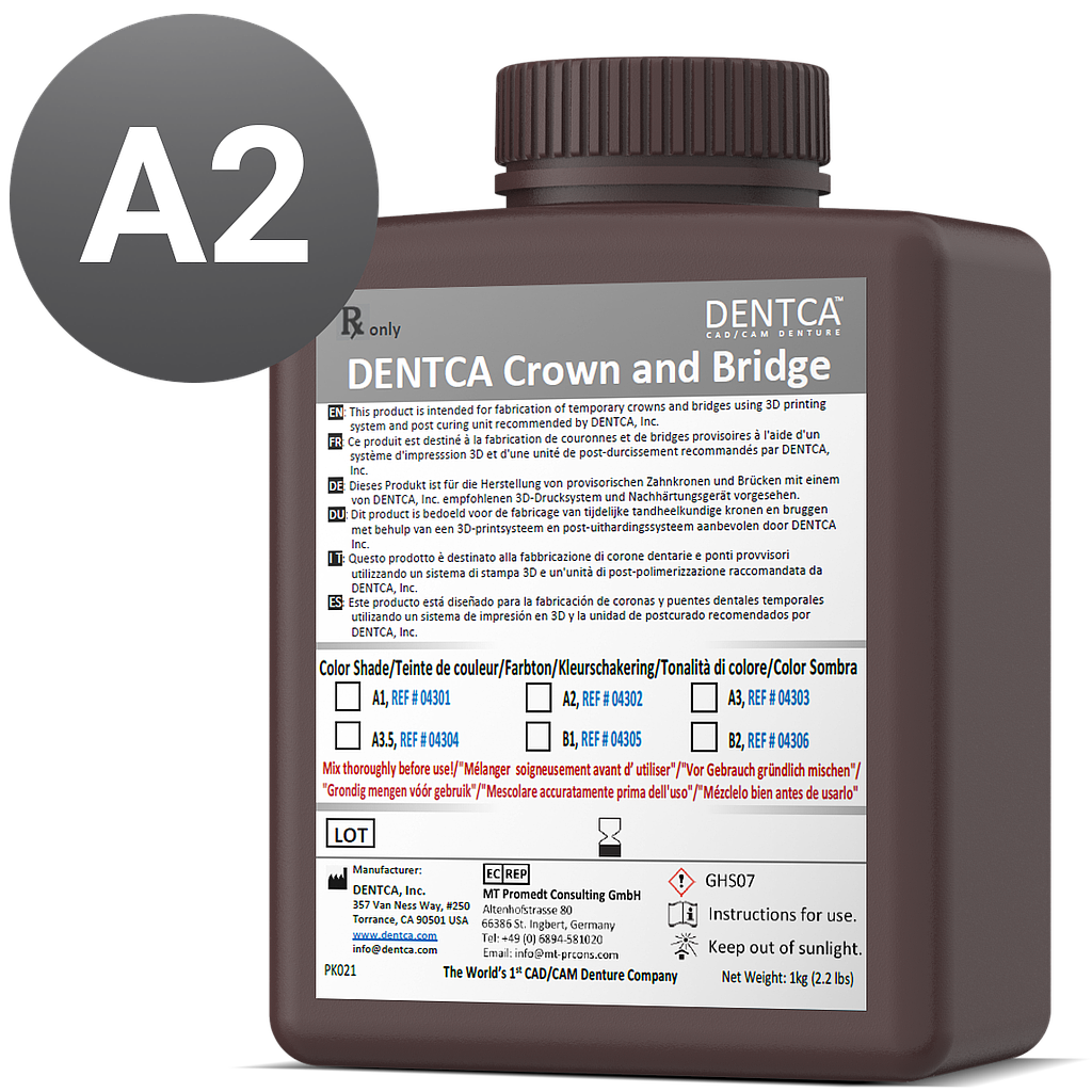 DENTCA Crown and Bridge A2