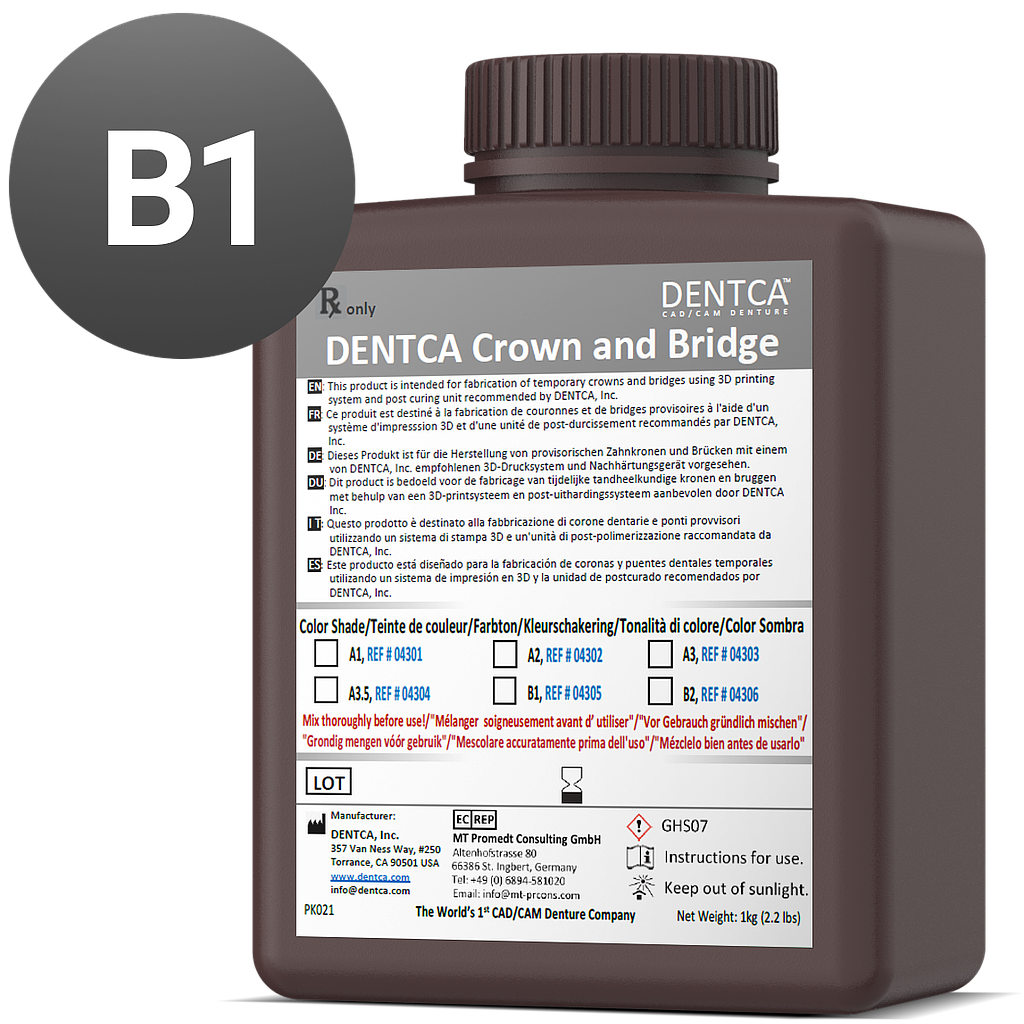 DENTCA Crown and Bridge B1